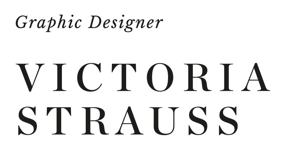 Victoria Strauss - Graphic Designer